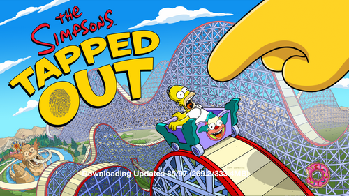 Krustyland Splash Screen - Simpsons Tapped Out - DrewDabble