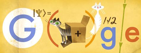 Google Schrödinger Doogle