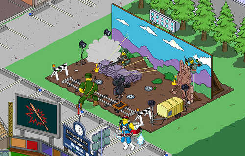 IMO Ultimate TRG - Film Set with Climactic Battle - Simpsons Tapped Out - DrewDabble