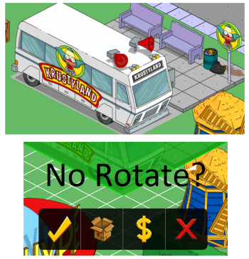 Krustyland Shuttle No Rotate - Simspsons Tapped Out - DrewDabble