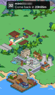 Visit Friends  Menu Update - Simpsons Tapped Out - DrewDabble