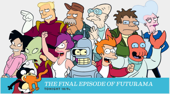 Futurama Final Episode on Comedy Central