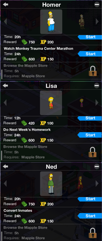 Homer Lisa Ned - Browse the Mapple Store - DrewDabble
