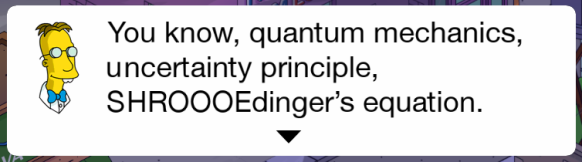 Schrödinger-Frink-Dabble