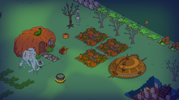 Victorian - Steampunk - UFO - Simpsons Tapped Out - DrewDabble (Samll Ver)
