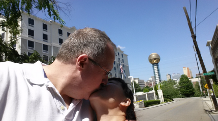 Kissy Face Near the Sunsphere